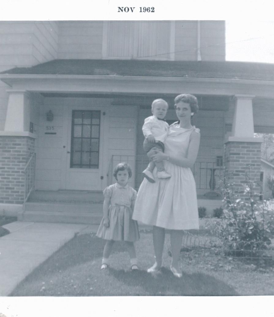 Grandma, Dad, and Aunt Diana