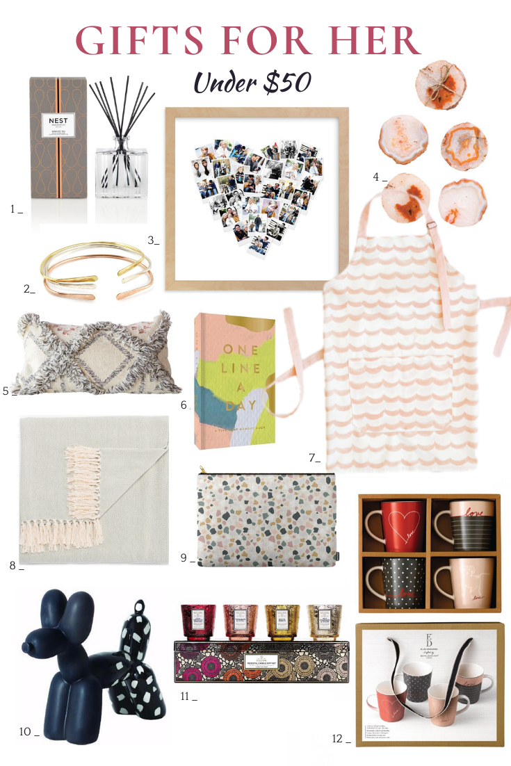 12 Gift Ideas For Women Under 50 12 Pieces