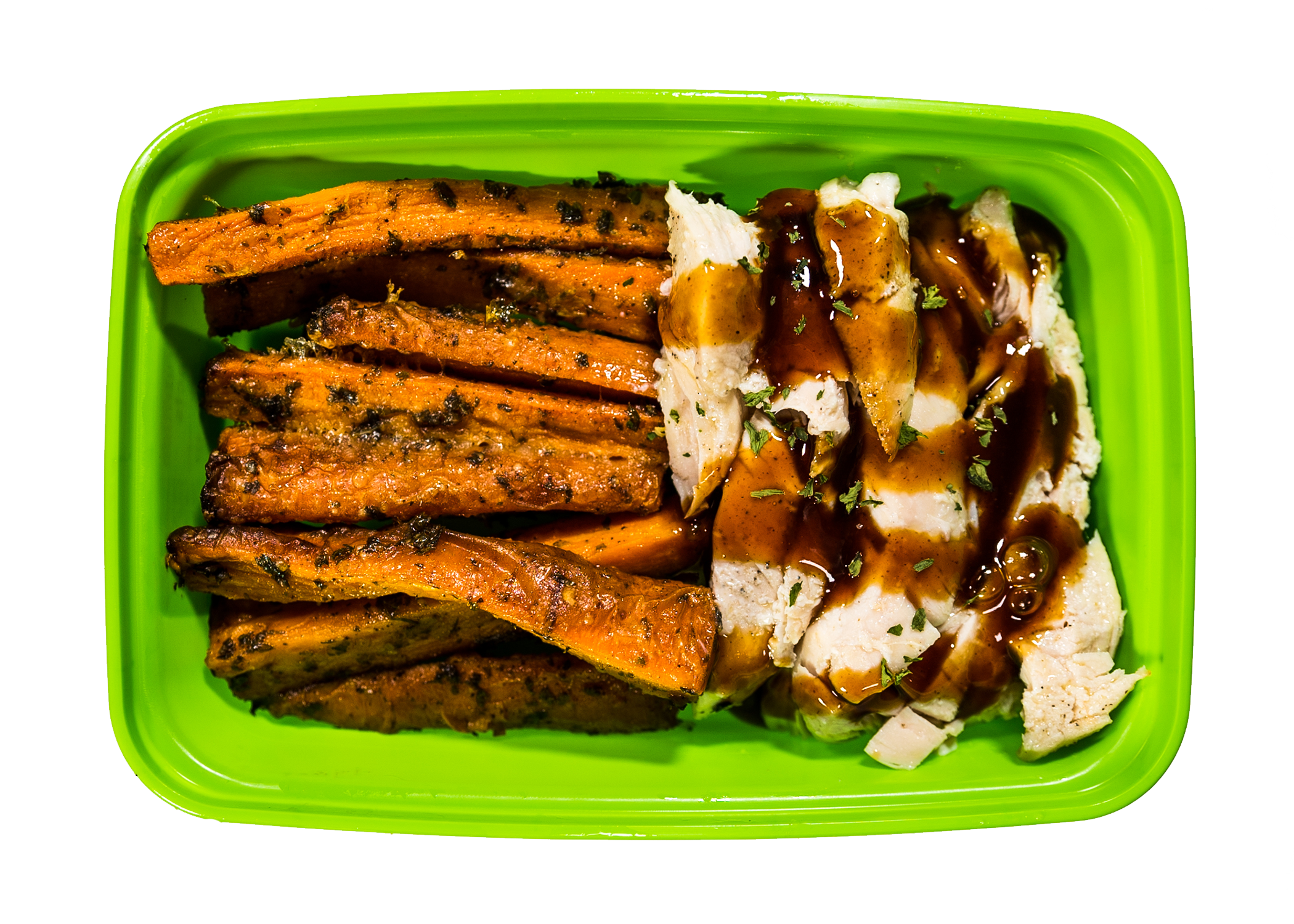 Baja Chicken & Carrot Fries