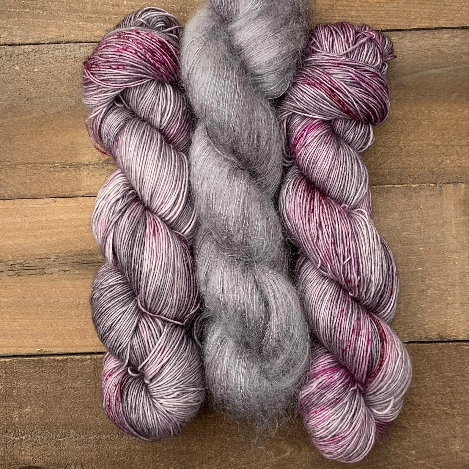 ABRACADABRA - (pictured along with grey mohair, in center)