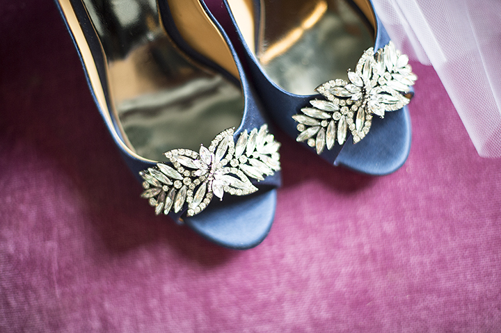 Dresser Mansion, Tulsa Oklahoma Wedding | Ely Fair Photography© | Blue Wedding Shoes