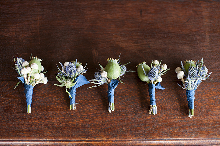 Dresser Mansion, Tulsa Oklahoma Wedding | Ely Fair Photography© | Boutonnieres by Birdie Blooms