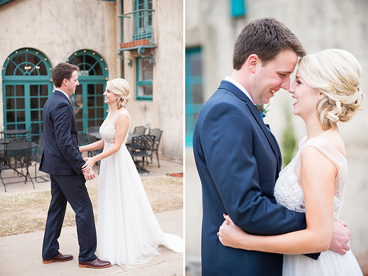Dresser Mansion, Tulsa Oklahoma Wedding | Ely Fair Photography© | First Look