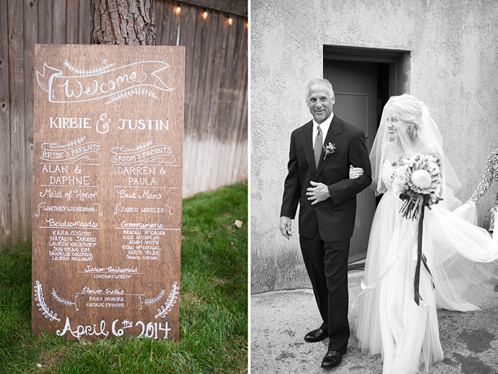Dresser Mansion, Tulsa Oklahoma Wedding | Ely Fair Photography© | Program Board
