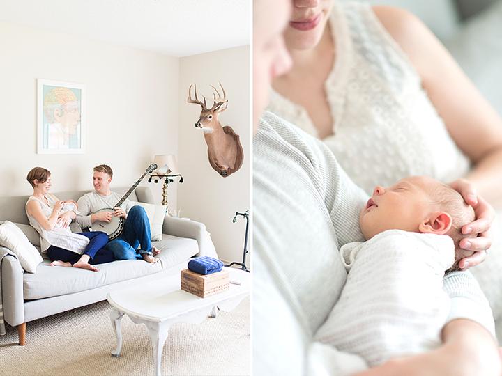 Lifestyle Newborn Photography | Ely Fair Photography