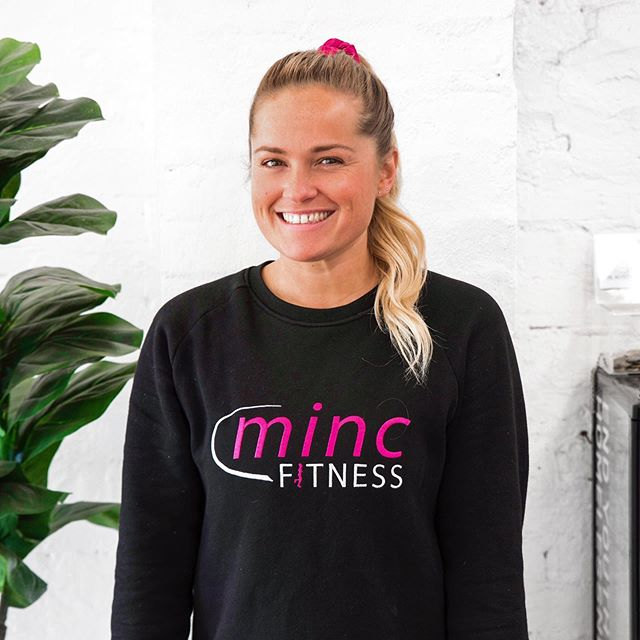 Hi gals, I'm Mel 🙋🏼‍♀️ . As a very proud Mumma to Minc, if you've  trained in our classes, it's highly unlikely we haven't yet met! But for those of you who don't know me....☺️👋🏼 . I created Minc (firstly as an outdoor bootcamp & now as a studio) not just as a space but as a community, to inspire our strongest, healthiest & happiest selves! I have & always will encourage you to think of exercise as more than just a means to change the way your body looks. . You'll catch me in my second home, with my second family almost every day of the week! Once you step foot inside the studio, you are a part of our girl gang - so technically we are sisters......👯‍♀️💕 #notjoking #sistersfromanothermister #teamminc