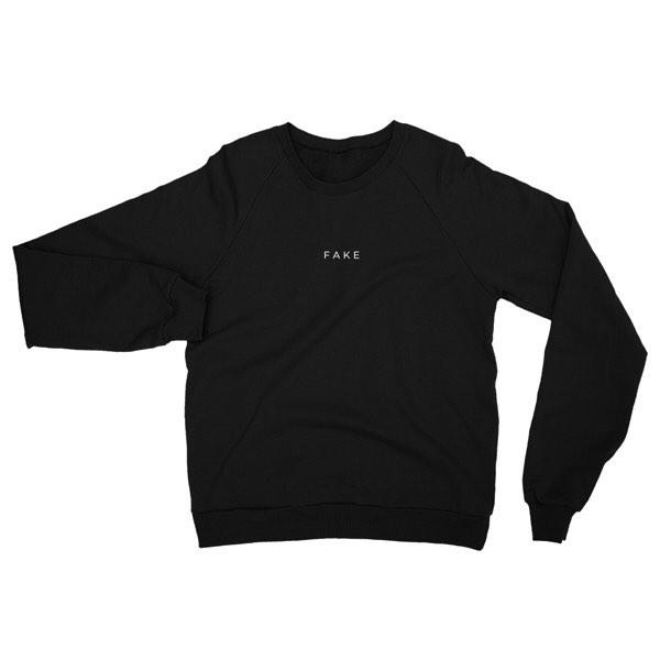 FAKE sweater $45