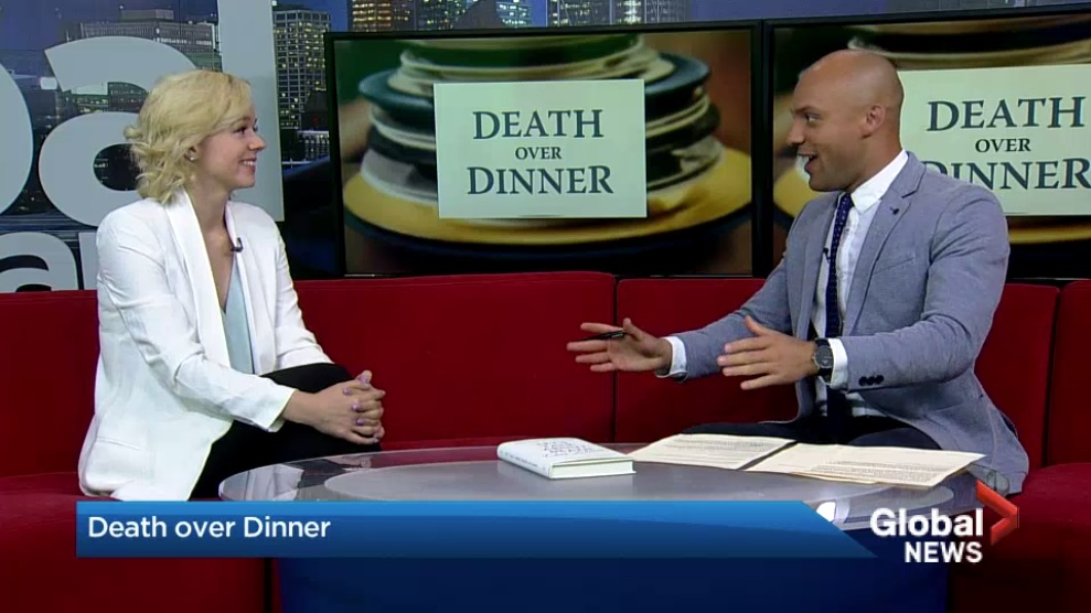 Global NEWS Morning Calgary, June 1, 2019 - Katie Smith joined Joel Senick of Global News Calgary to talk about a unique event that will help people talk about the inevitable; death.