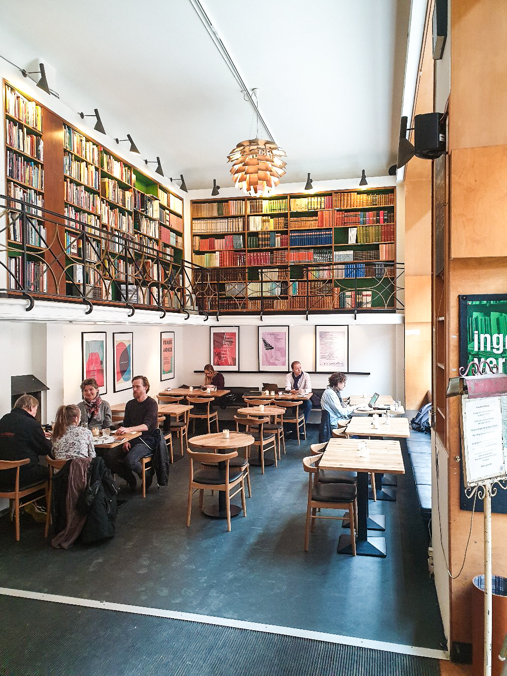 Go and experience incredible student atmosphere in Paludan while in Copenhagen.