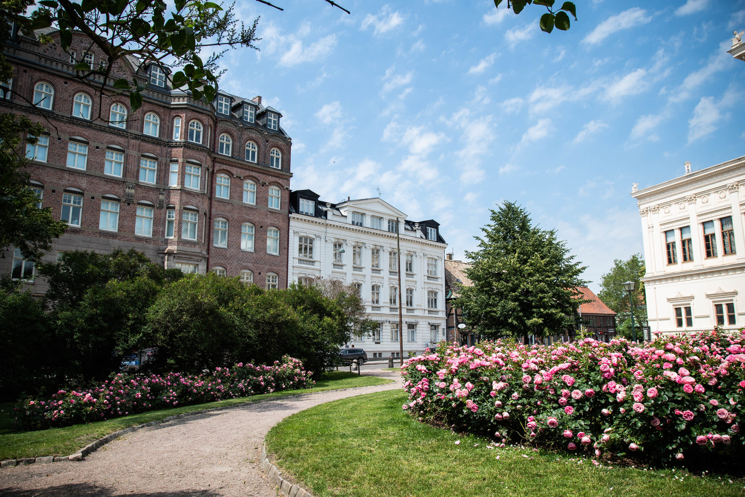 Beautiful Lund in the summer.