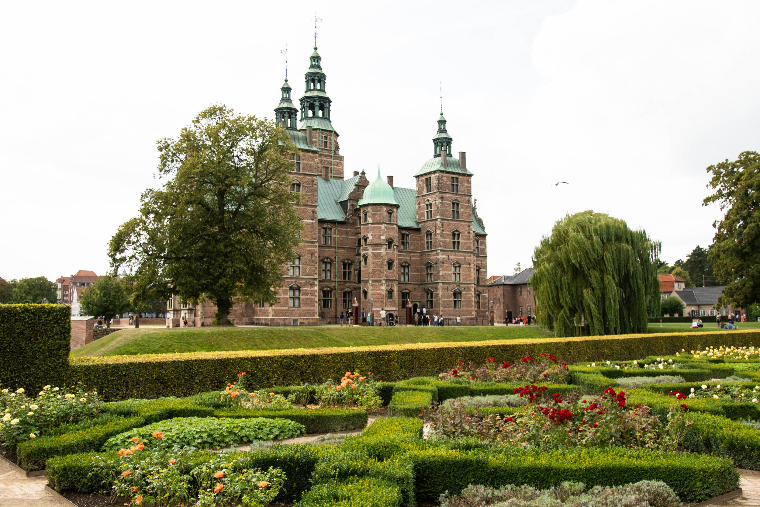 Rosenborg Castle is one of the most beautiful sightseeing and should not be missed while in Copenhagen.
