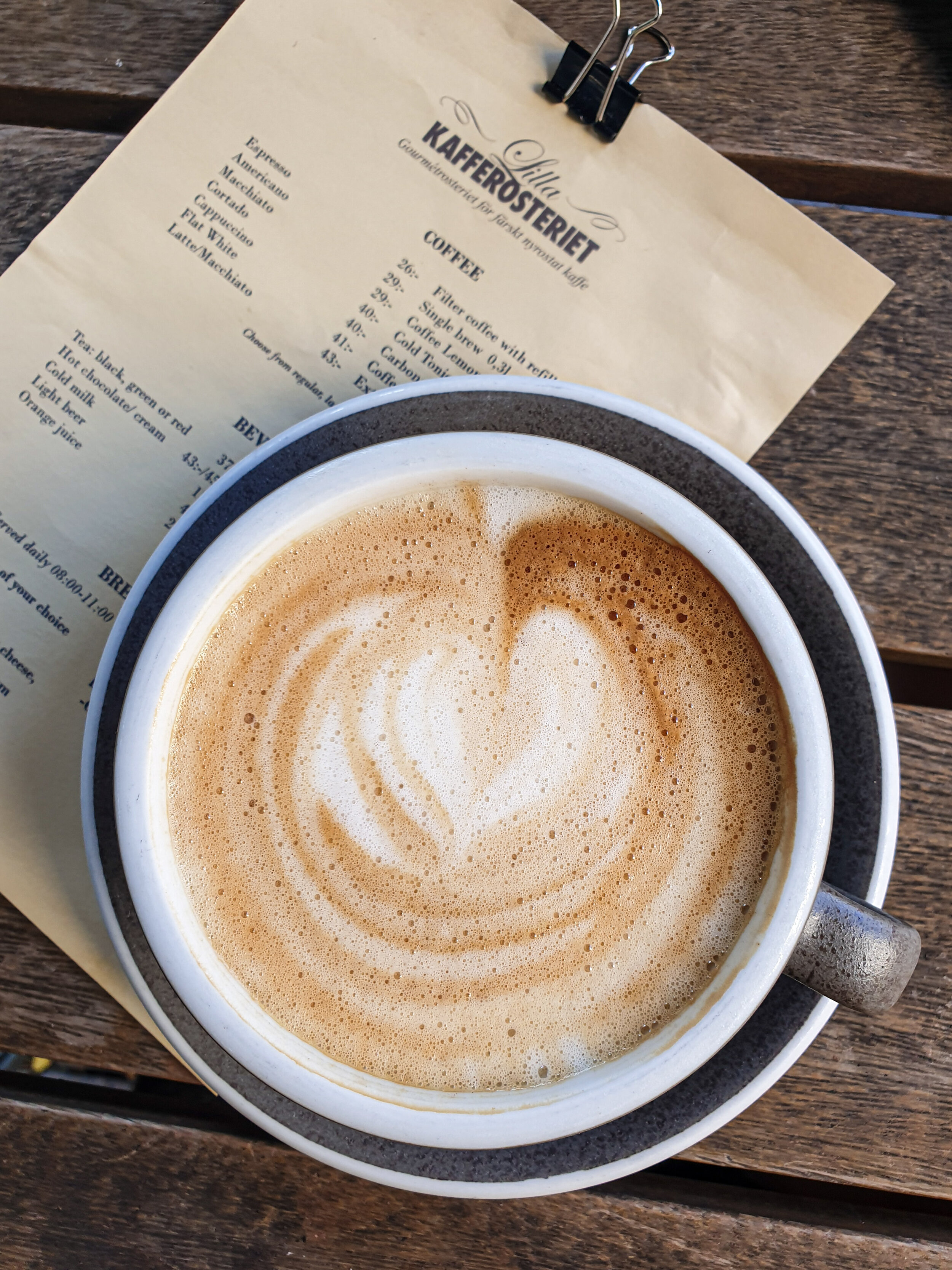 Another stop on your coffee guide in Malmö is Lilla Kafferosteriet.