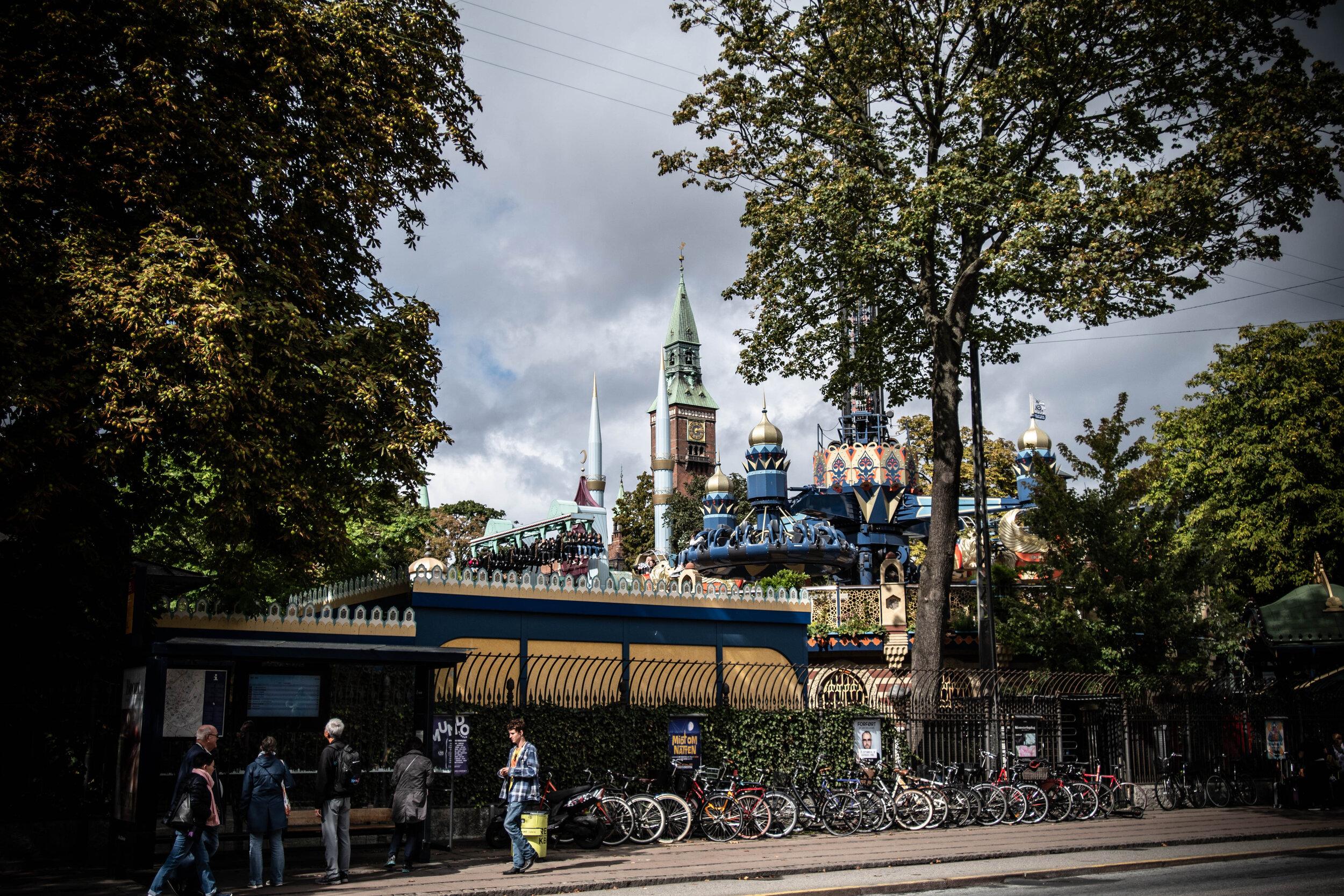 Ready for some amusement? Tivoli will take care of you while in Copenhagen.