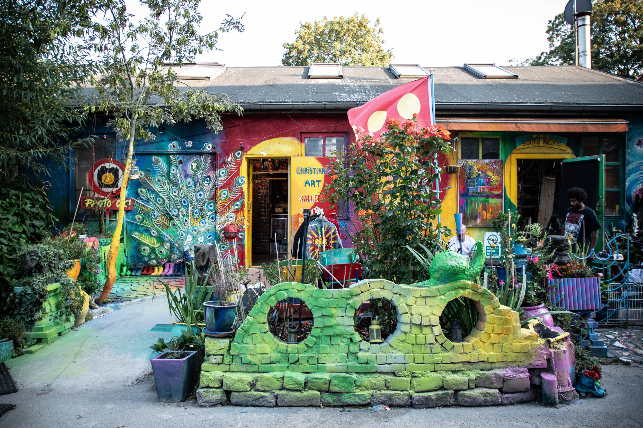 Christiania is truly a unique place in Copenhagen, should not be missed while you are visiting.