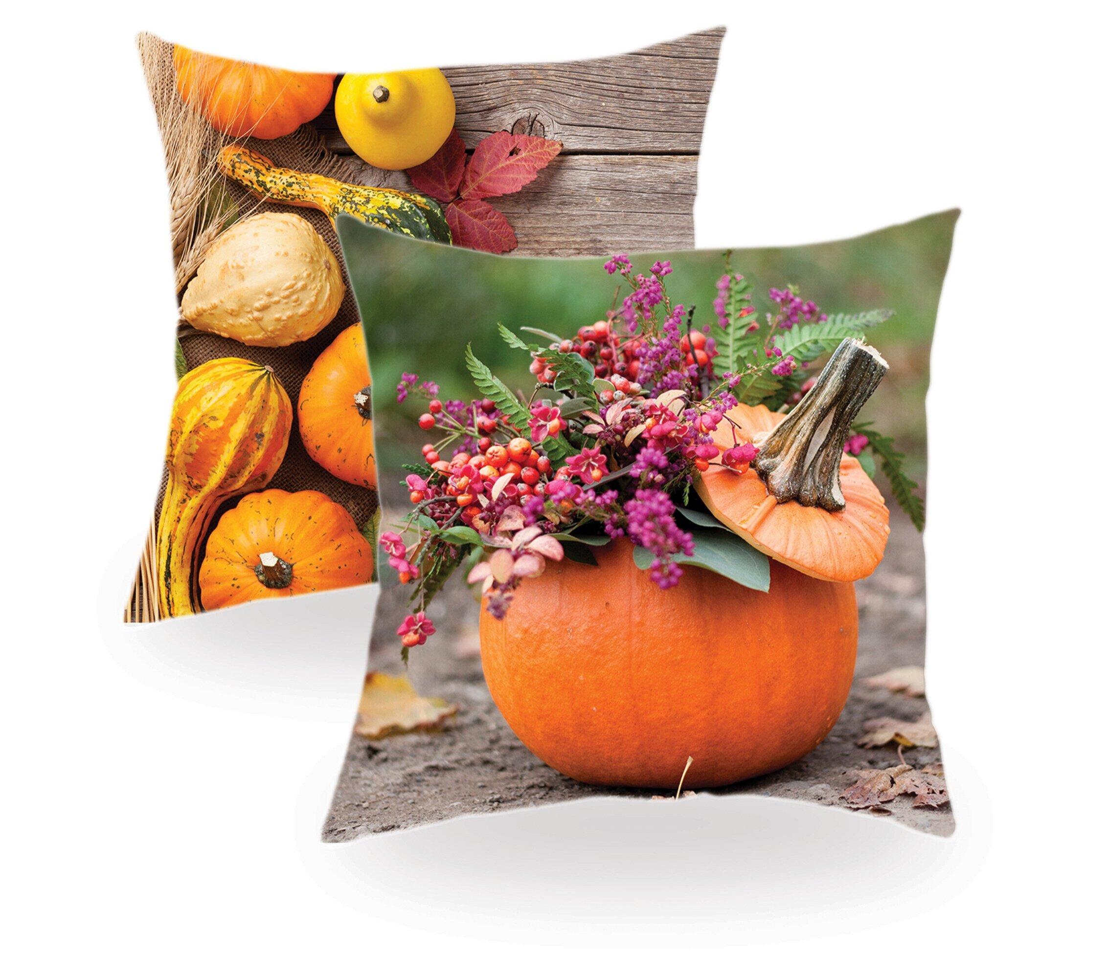 Leuchtendes Kürbis-Orange begrüßt den goldenen Herbst und bringt Farbe in trübe Regentage!