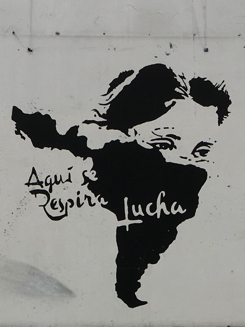 «Here we breath struggle»  Latino America - Calle 13