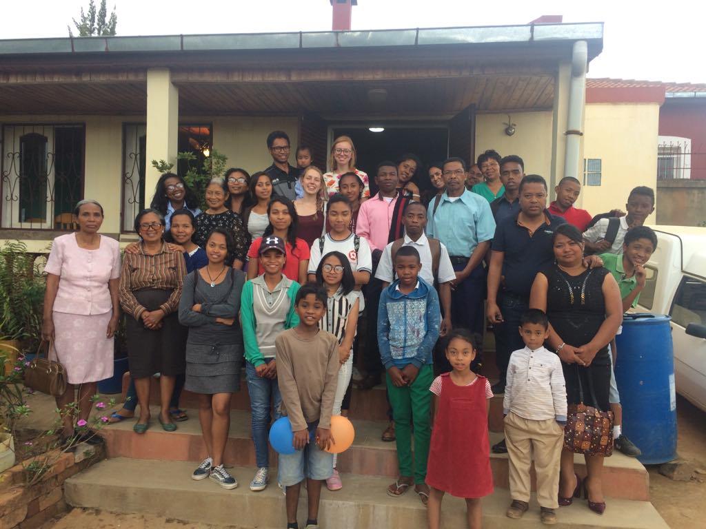 Dette er UGBM Ambohidratrimo. Vår familie i Kristus her i Madagaskar.
