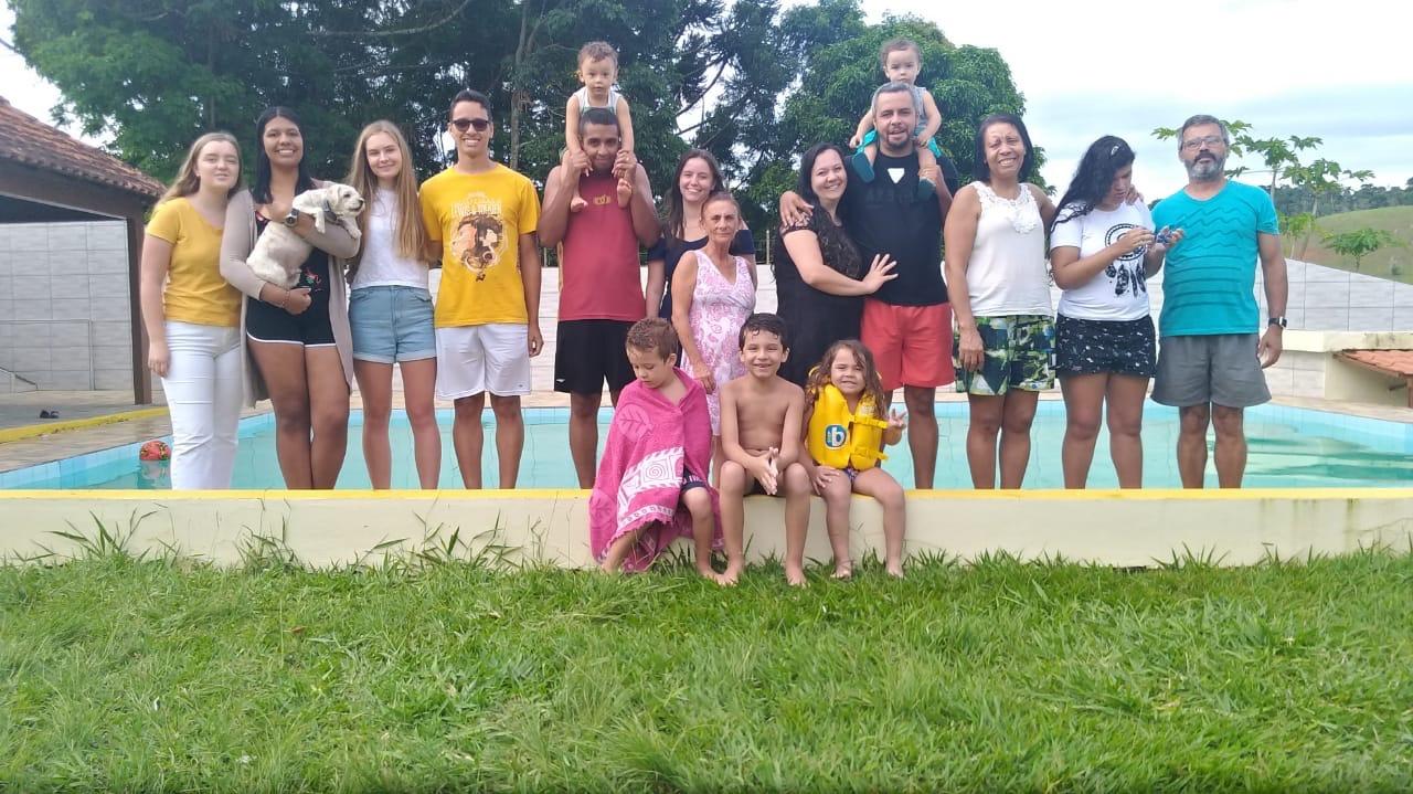 1. Juledag! Vår brasilianske familie nr. 2