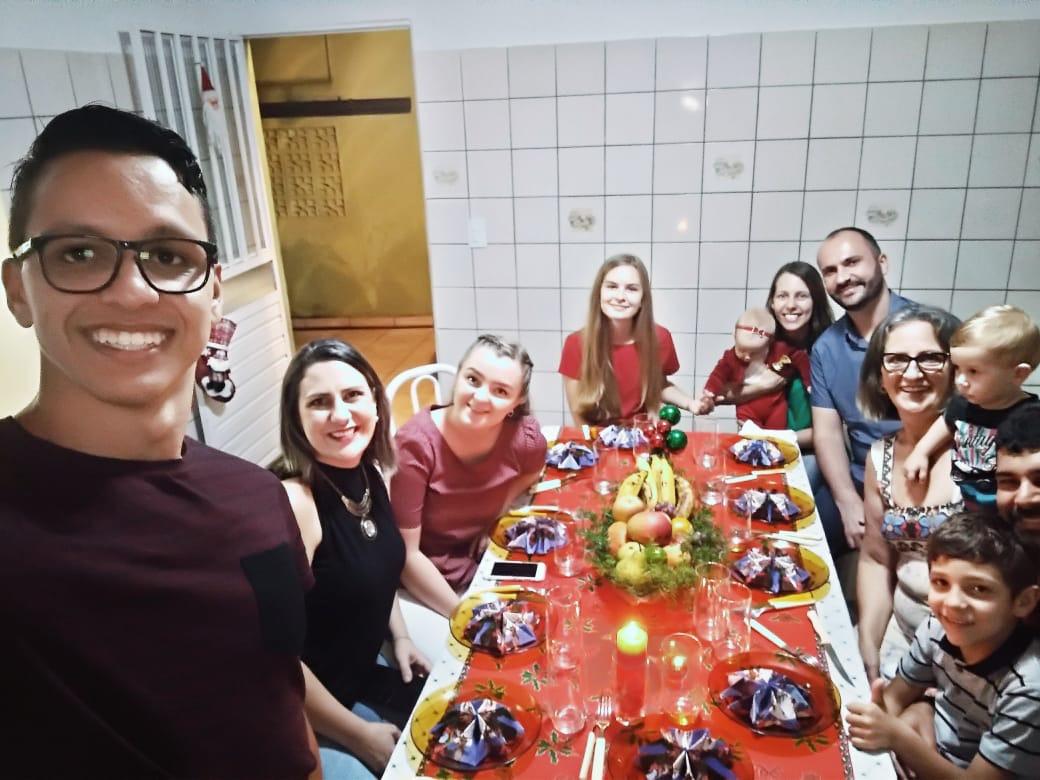 Julaften! Vår brasilianske familie nr. 1