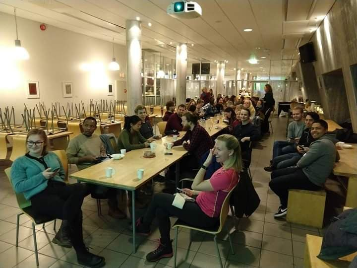 Christian students gathering in UiA, Kristiansand