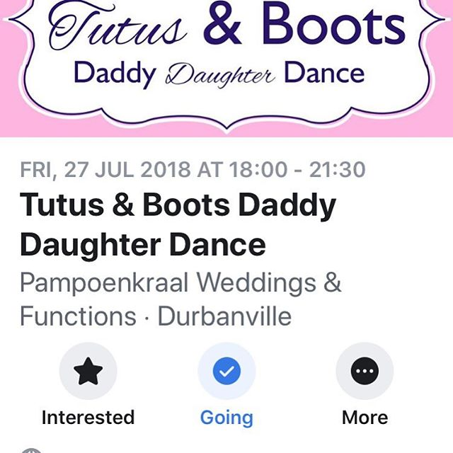BOOTS AND TUTUS Another evening of fun and laughter with fathers and daughters dancing together. A great cause as well- NOFSA 🤠