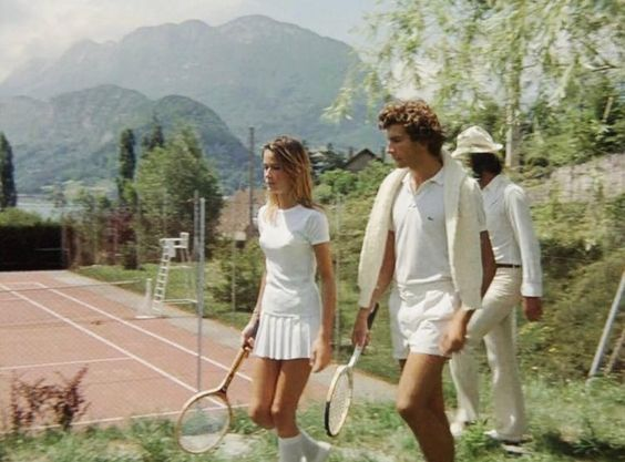 Old school tennis