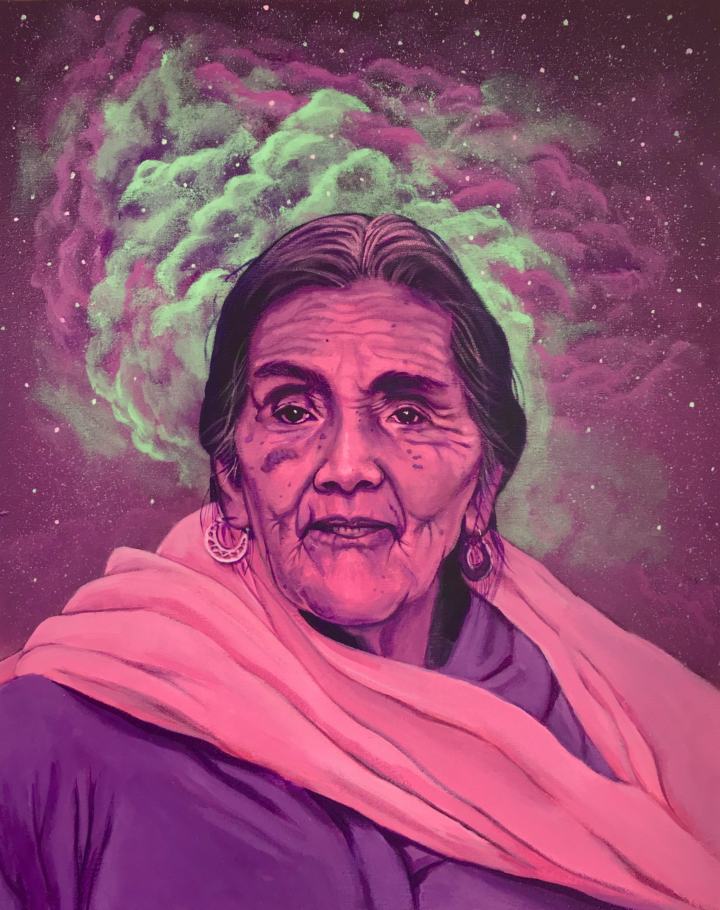 Grandmother Julieta Casimiro
