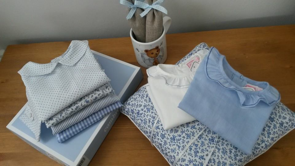 Delicate handmade baby blouses