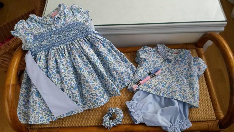 Handmade Liberty baby garments