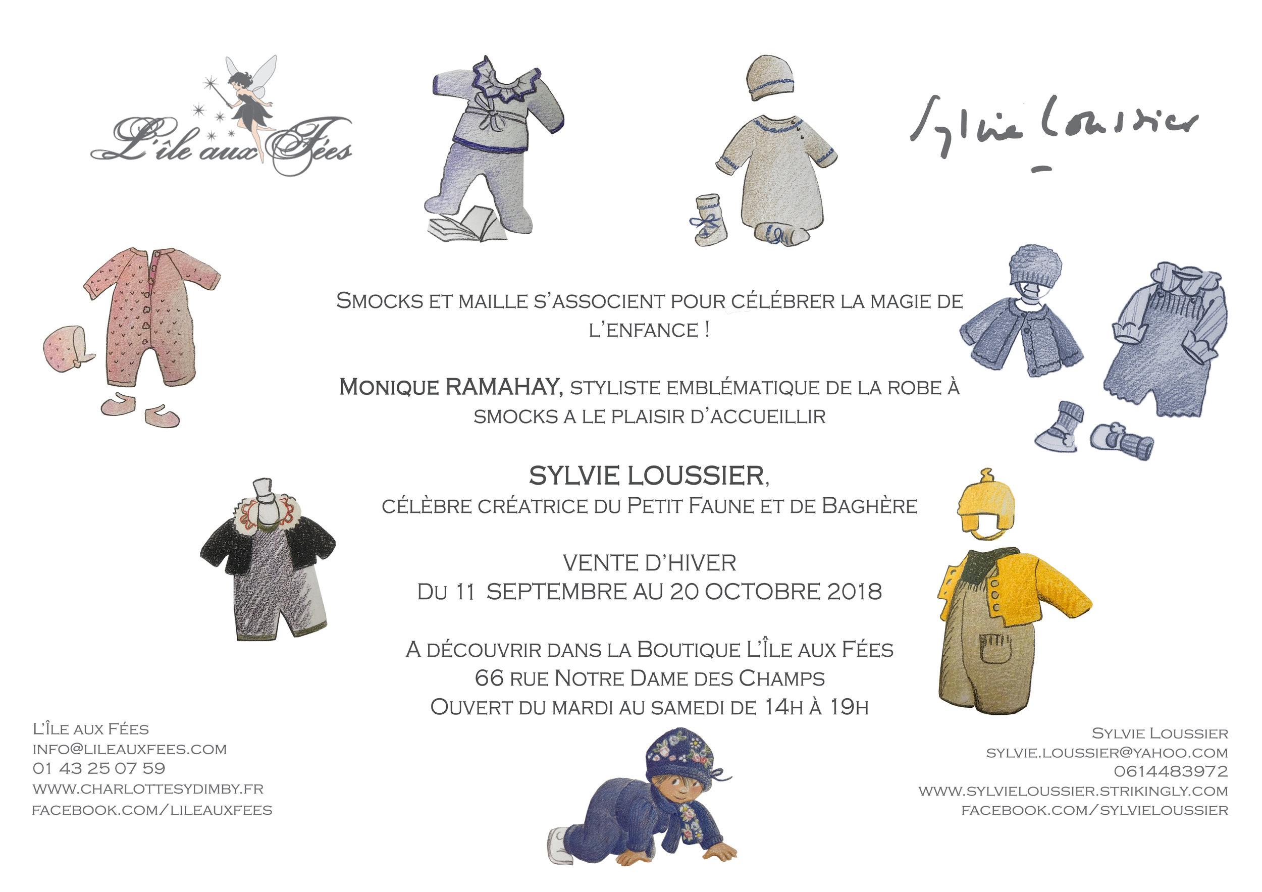 Sylvie Loussier at L'Île aux Fées - Paris boutique