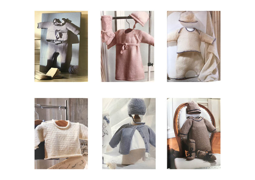 SYLVIE LOUSSIER : PRECIOUS KNITTED WOOL AND CASHMERE GARMENTS FOR YOUR LITTLE ONES