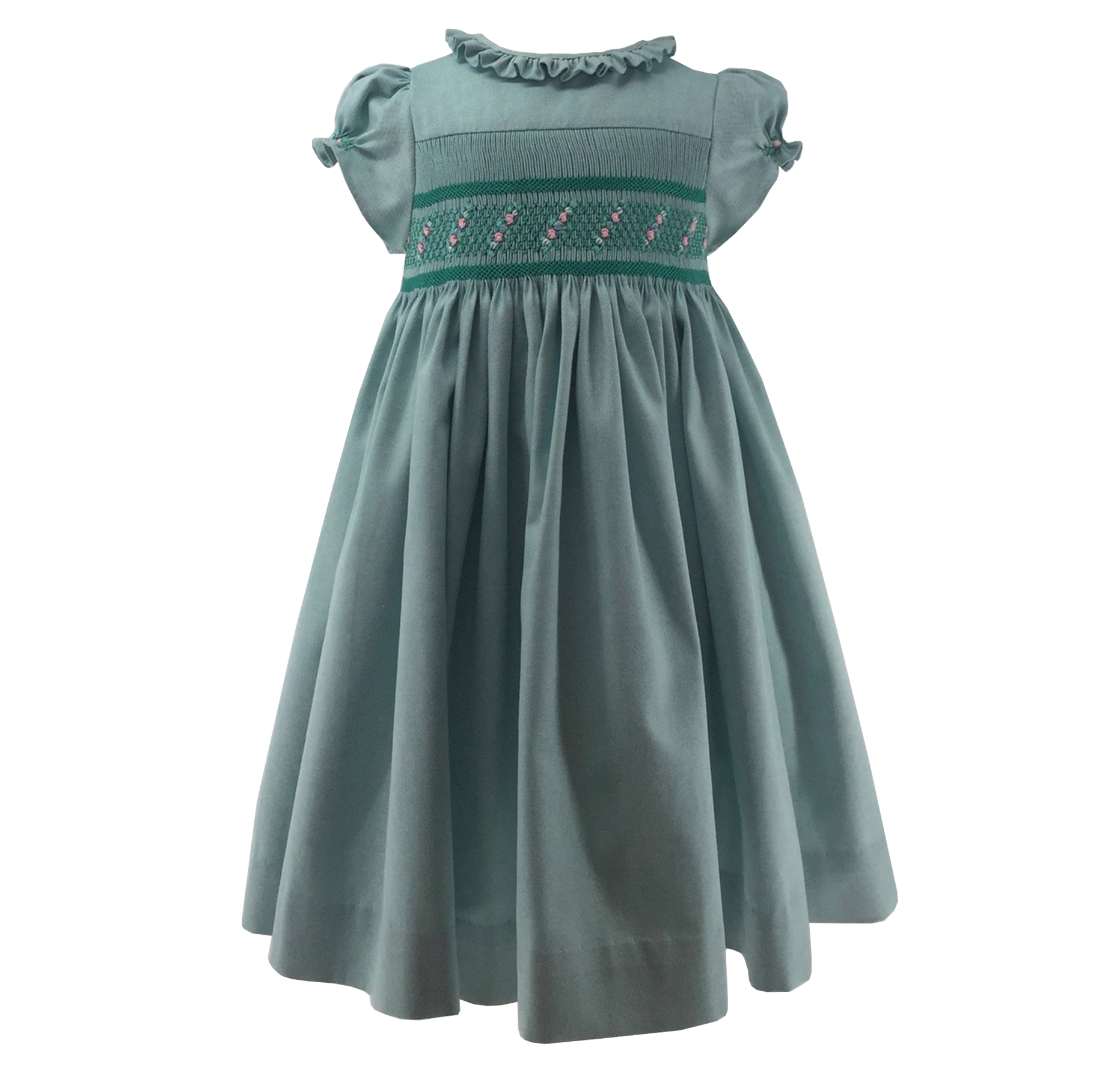 Oxford Amandine Louise smocks dres