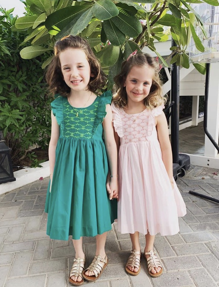 Thank you to Lola and Nora for chosing our Netti smocked dresses for their birthday party in Dubai