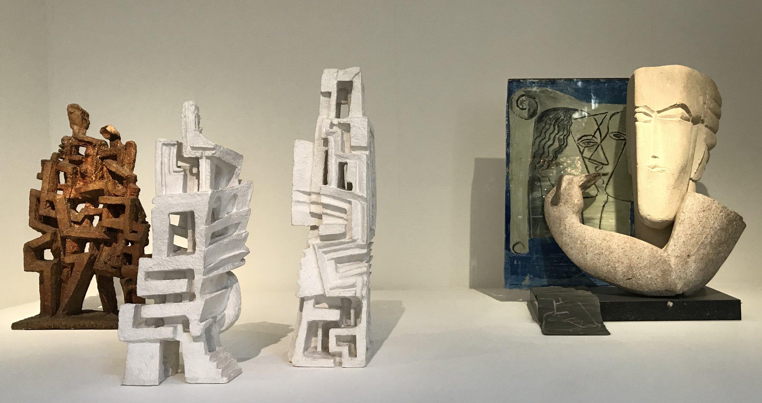 Zadkine sculptures - visiting Paris with kids