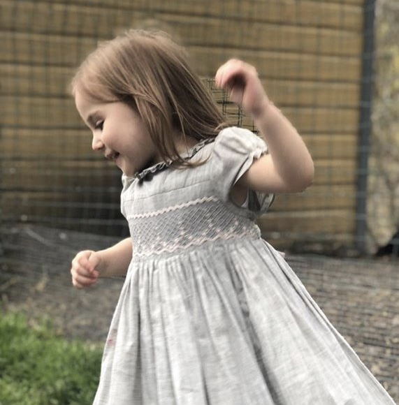 handmade smocked dress - frenchstyle - Children's boutique