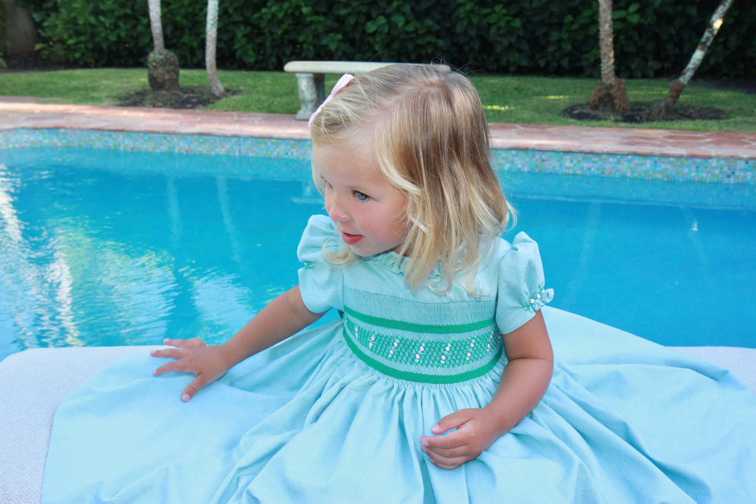 Green Amandine dress