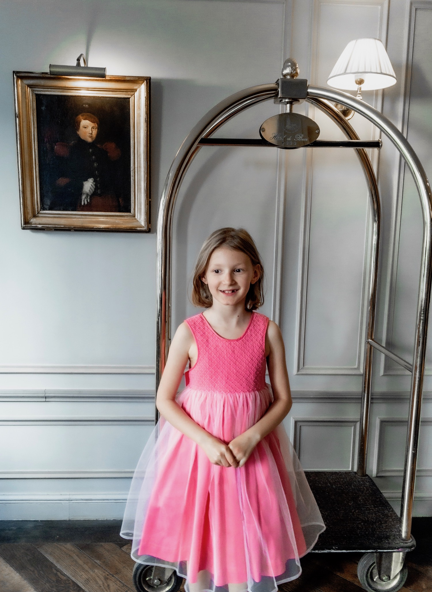 Paris with kids handmade smocked dress Buci hotel