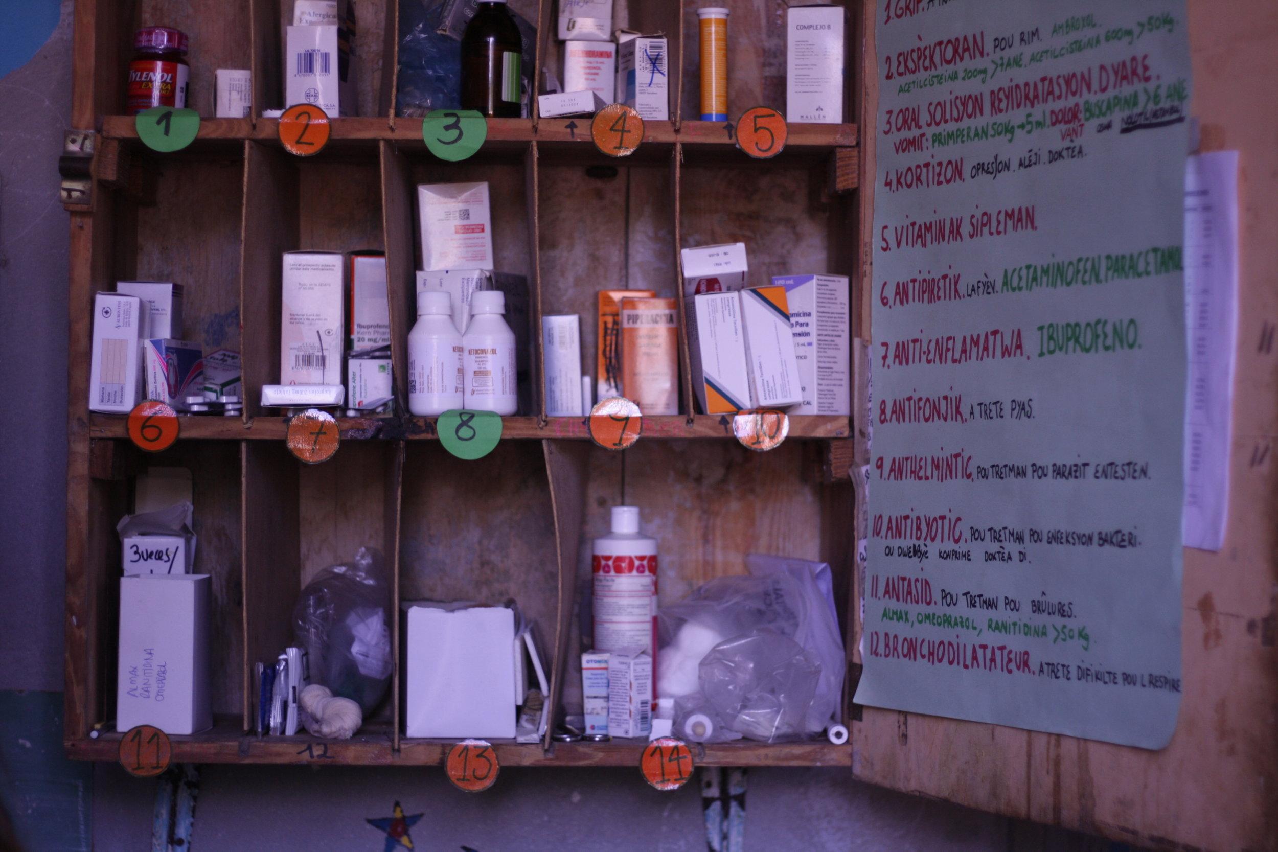 SEGUIMIENTO MÉDICO - Dentro de las labores que realizan los educadores está el seguimiento médico de los niños. Se encargan de darles las medicinas y antibióticos recetados por las enfermeras en horario extra escolar, y de notificar cualquier cambio en su evolución.