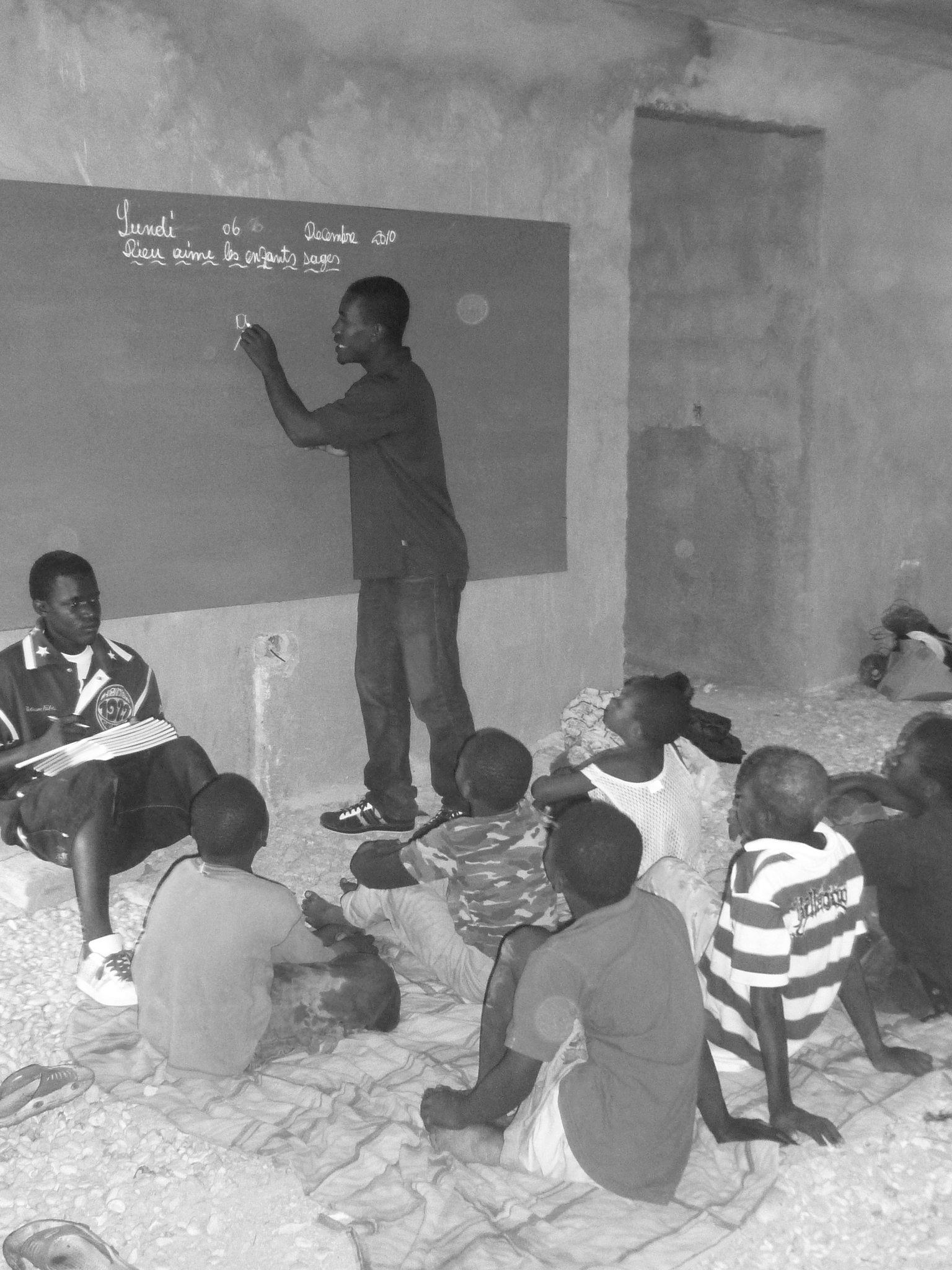 Primeras clases en casa con profesor