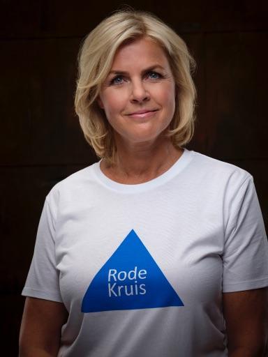 Irene Moors   Presentatrice en actrice, ambassadeur Rode Kruis