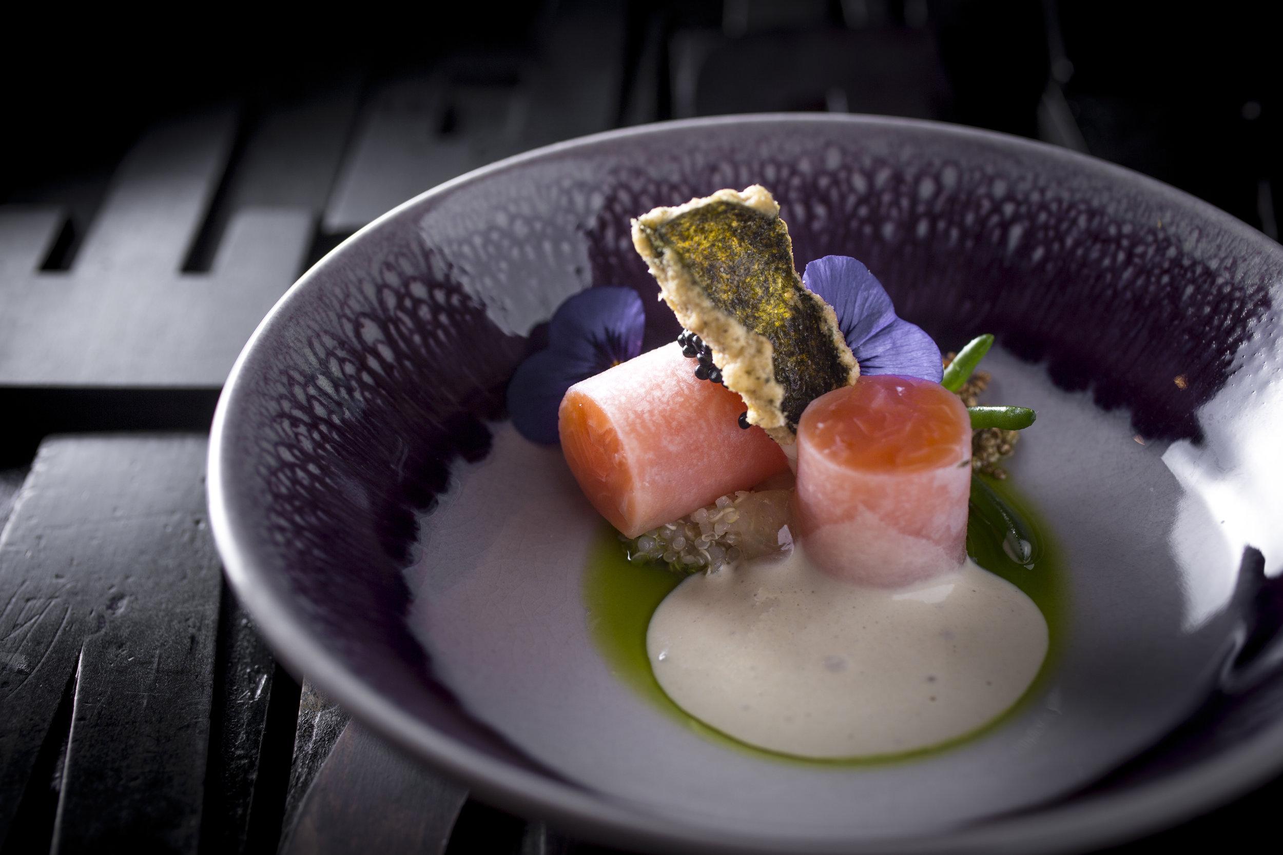 Roger Rassin | Zalm, quioa, citroen en sardine