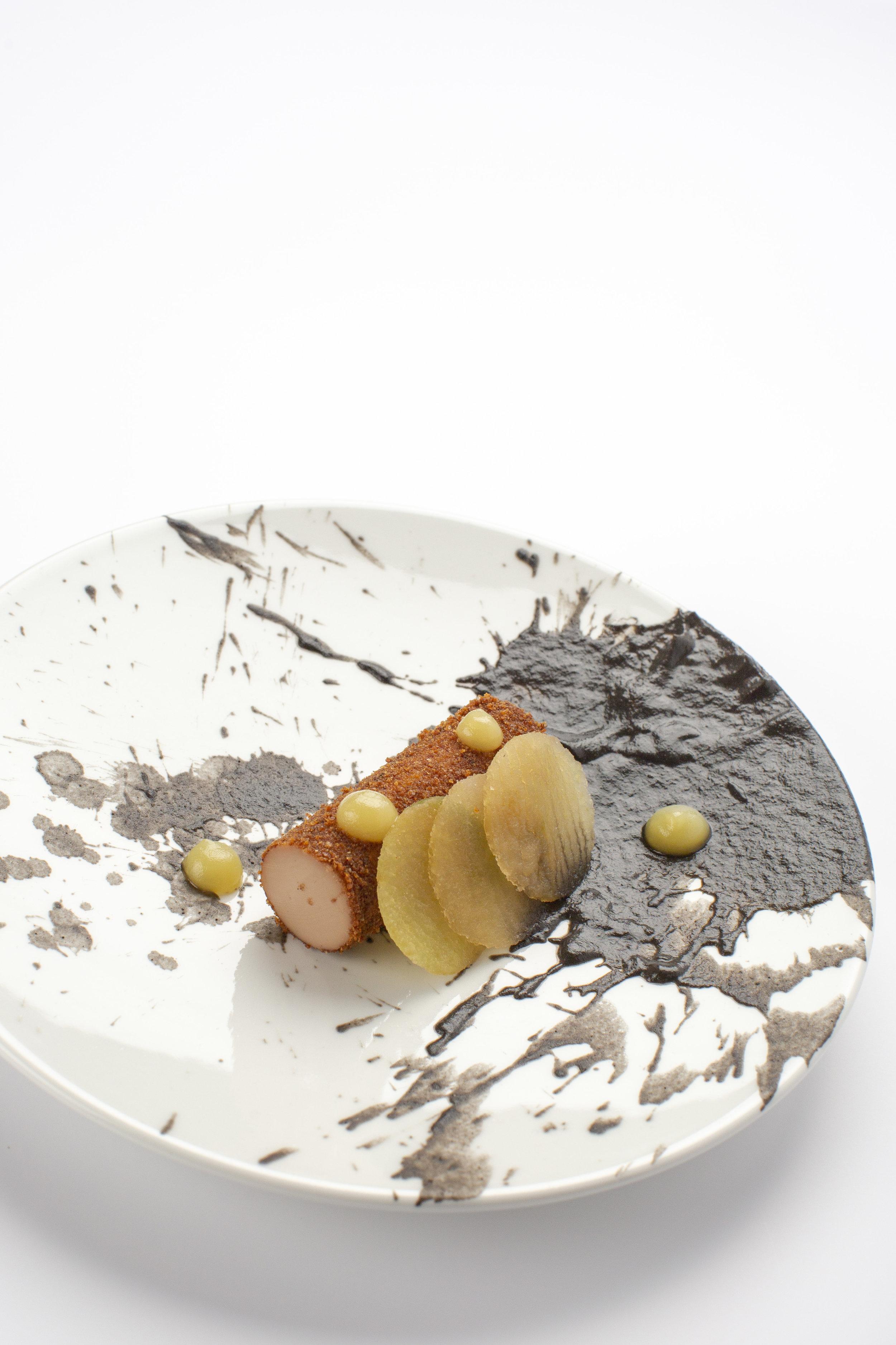 Luc Kusters | Foie royale / appel / champignon
