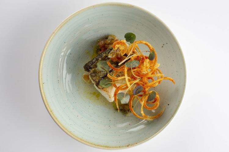 Maik Kuijpers | Schelvis met tomaat en kappertjes