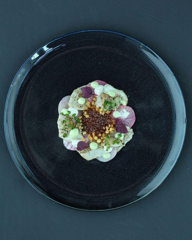 """""""Blackened zeebaars met merg en ponzu kaviaar"""" ⠀⠀⠀⠀⠀⠀⠀⠀⠀ 👨🏼🍳 @stefanvansprang van @restaurantaandepoel ⏰  tussen 15:00 en 16:00 📍 @24hchefs in @juniperandkin 📷 @ms_ka_photography 👀 alle foto's: www.24h-chefs.com"""