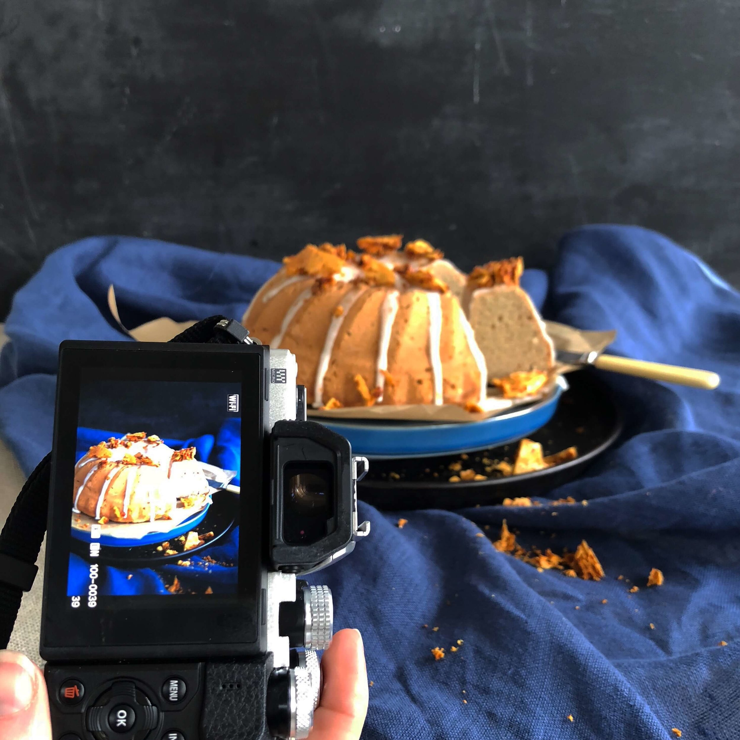 Food By Annabel - Content Creation cake