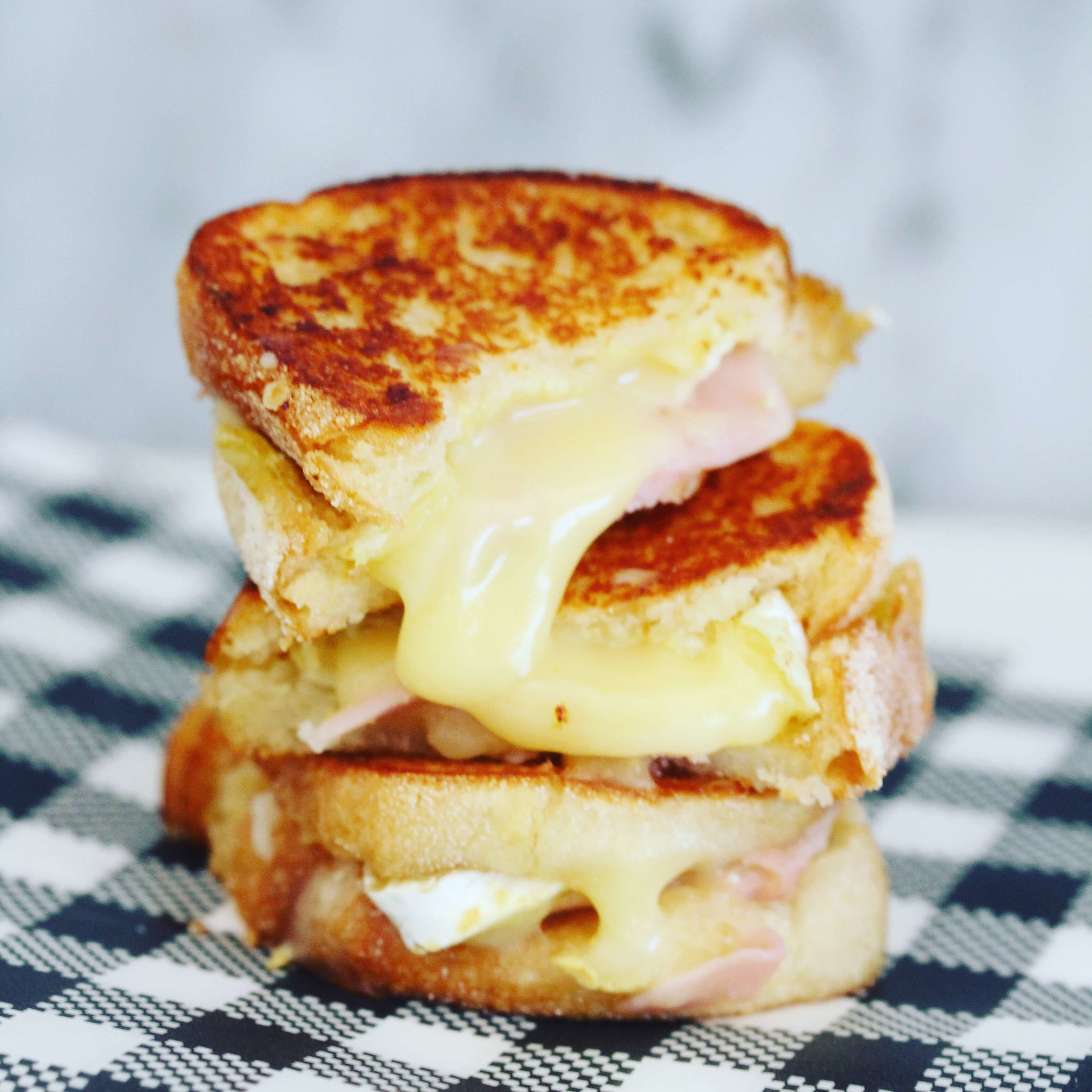 Food By Annabel - Content Creation Ham and Cheese Toastie