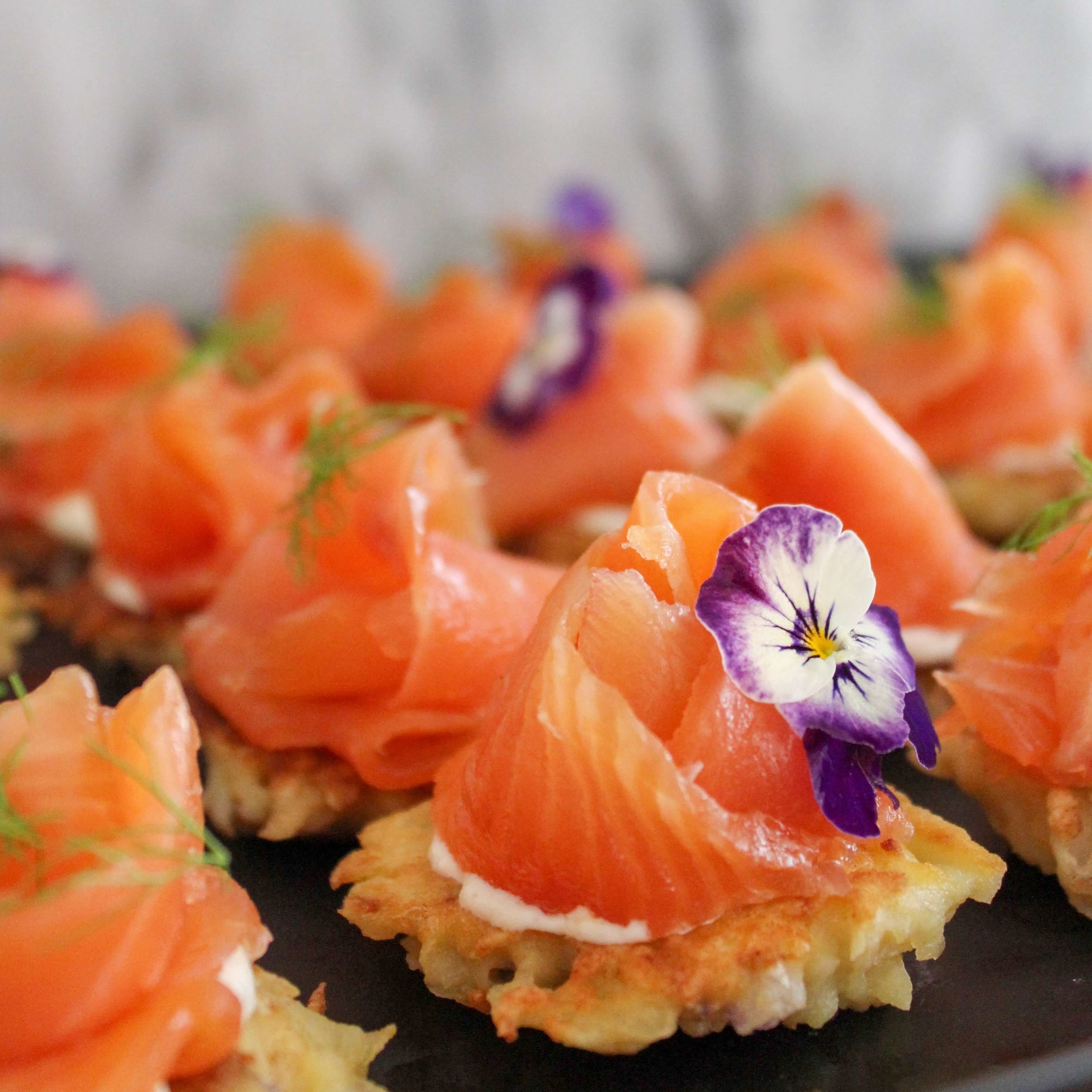 Food By Annabel Food Styling - Salmon Blini