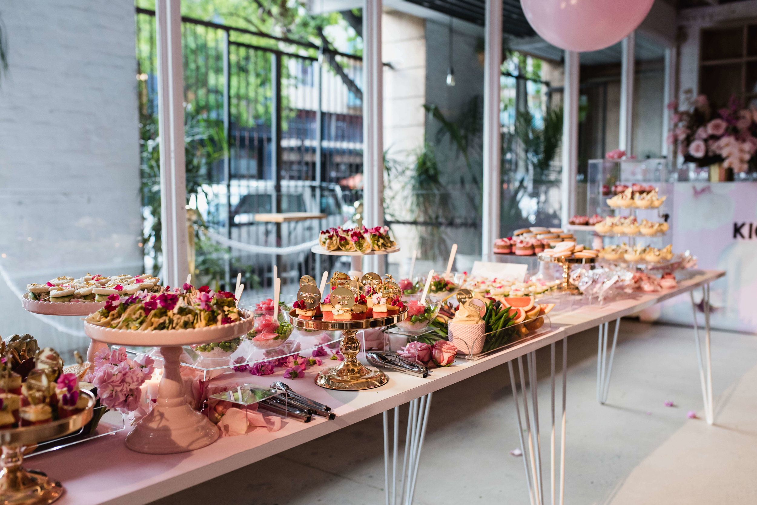 Food By Annabel - Food Consultant - Launches - PARTY WITH LENZO Grazing Table