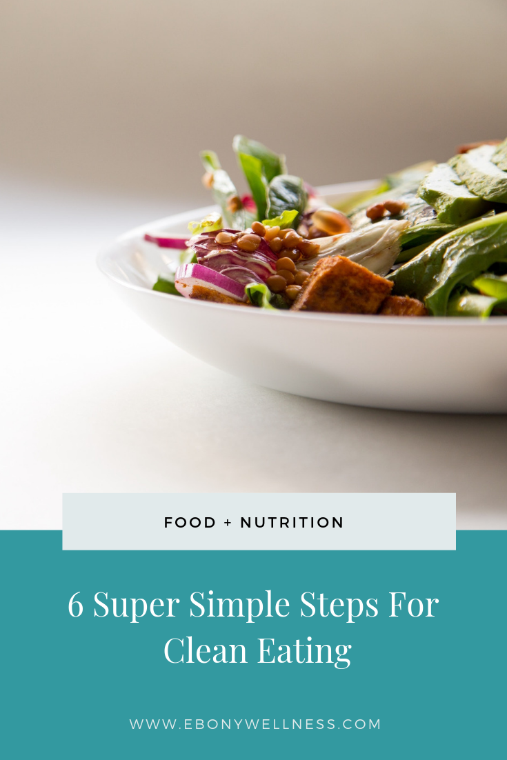 Simple Steps for clean eating - Ebony Wellness