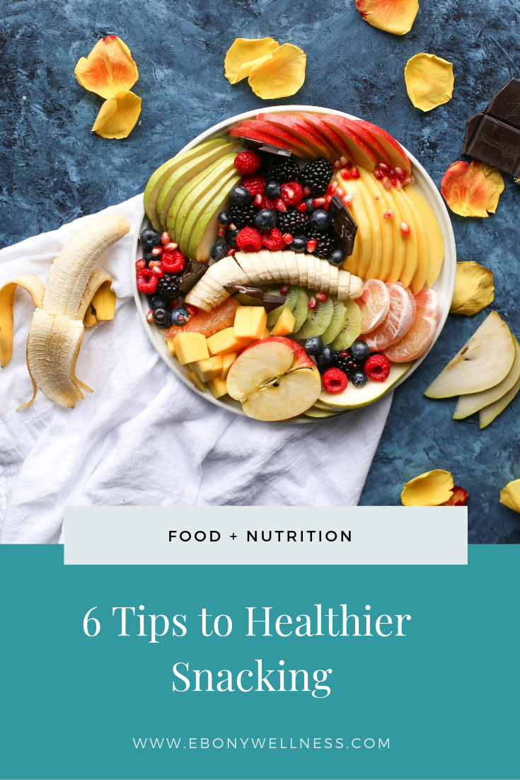 Here are 6 tips to healthier snacking! Learn how to fuel your body for better health and more energy even when you have a crazy busy schedule!